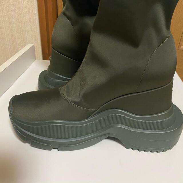 YELLO スニーカーショートブーツ ダブルソール  レディースの靴/シューズ(ブーツ)の商品写真