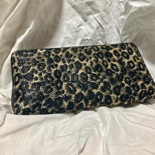 ドリスヴァンノッテン(DRIES VAN NOTEN)のDRIES VAN NOTEN LONG WALET leopard(折り財布)