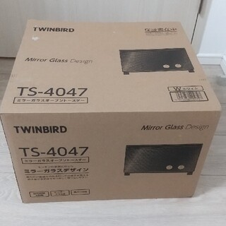 ツインバード(TWINBIRD)の★値下げ★【新品】ツインバード オーブントースター 4枚焼 TS-4047W(調理機器)