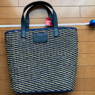 ヒロシマトウヨウカープ(広島東洋カープ)のカープ編み込みカゴバッグ(応援グッズ)