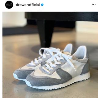 Drawer - ドゥロワー  drawer 別注 novesta スニーカー