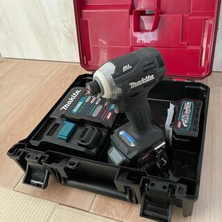 マキタ(Makita)のマキタ 40V インパクトドライバー 黒 ブラック(工具)