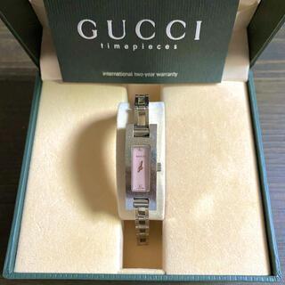 グッチ(Gucci)の【大特価‼︎】グッチ 高級腕時計 3900L 2Pダイヤ ピンク 夏 山や海🎀(腕時計)