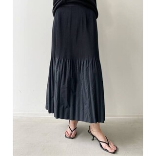 L'Appartement DEUXIEME CLASSE - 新品■KALLMEYER■Pleats Skirt■ブラック 36■アパルトモン