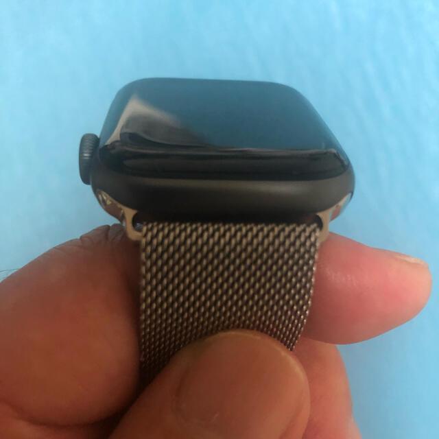 Apple(アップル)のApple Watch series4 44mm Space Gray スマホ/家電/カメラのスマートフォン/携帯電話(その他)の商品写真
