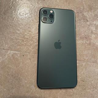iPhone - iPhone 11Pro Max ミッドナイトグリーン 256GB SIMフリー