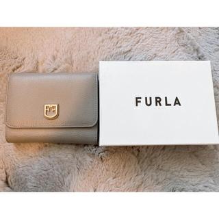 Furla - FURLA グレー ミニ財布