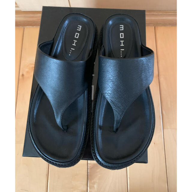 L'Appartement DEUXIEME CLASSE(アパルトモンドゥーズィエムクラス)のアパルトモン  モヒ  サンダル  ブラック  37 レディースの靴/シューズ(サンダル)の商品写真