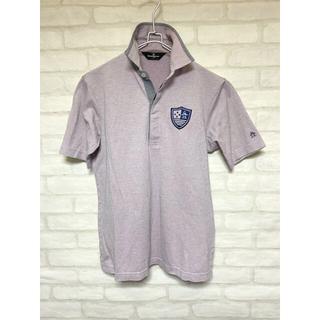 マンシングウェア(Munsingwear)のマンシングウェア 半袖ポロシャツ ゴルフウェア Mサイズ ラベンダー(ウエア)
