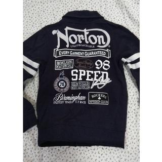 ノートン(Norton)のノートン スエットジャケット スウェットブルゾン ネイビー M(ブルゾン)
