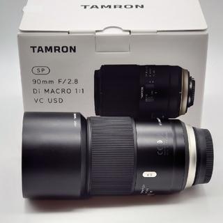 TAMRON - TAMRON SP 90mm F/2.8 Di MACRO Nikon用