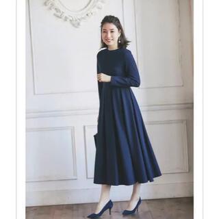 ノスタルジア 高田麻紀子さんコラボ ポンチ長袖ワンピース なでしこワンピ