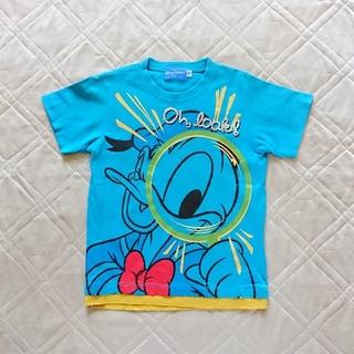 ディズニー(Disney)の【ディズニーリゾート】半袖Tシャツ☆ドナルド☆(Tシャツ/カットソー)