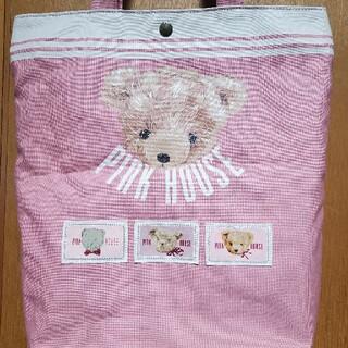 PINK HOUSE - ピンクハウス ベアートートバッグ