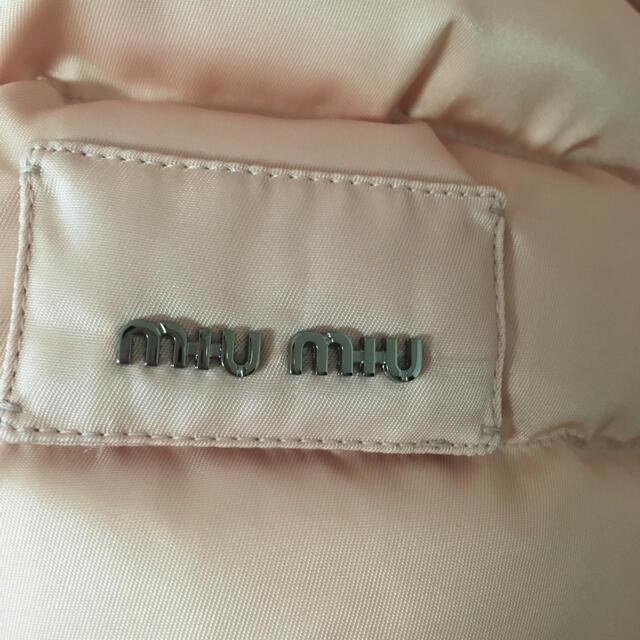 miumiu(ミュウミュウ)のmiumiu ダウン レディースのジャケット/アウター(ダウンジャケット)の商品写真