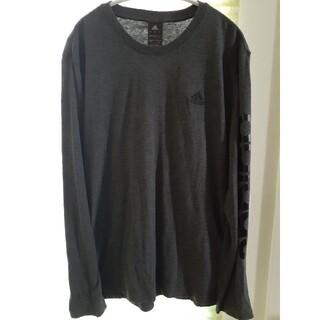 アディダス(adidas)のadidas 長袖Tシャツ Mサイズ(Tシャツ/カットソー(七分/長袖))