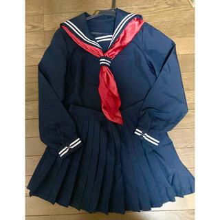 セーラー服 コスプレ 長袖 Lサイズ(衣装一式)
