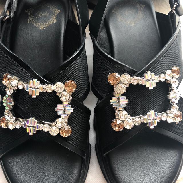 Rady(レディー)のRady ビジューサンダル M レディースの靴/シューズ(サンダル)の商品写真