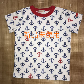 mikihouse - 日本製ミキハウス半袖シャツ 100サイズ