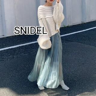 snidel - SNIDEL シアープリーツスカート