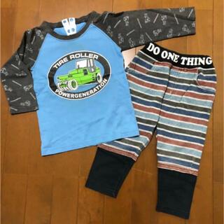 フェリシモ(FELISSIMO)の7部袖Tシャツ(フェリシモ) パンツ セット 90cm(Tシャツ/カットソー)