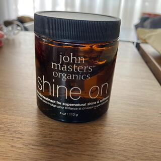 ジョンマスターオーガニック(John Masters Organics)のジョンマスター シャインオン!スタイリング剤(ヘアムース/ヘアジェル)