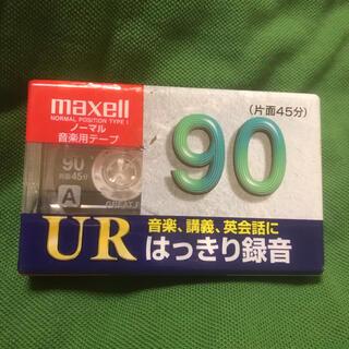 maxell - maxell UR-90L ノーマル音楽テープ カセットテープ 90分