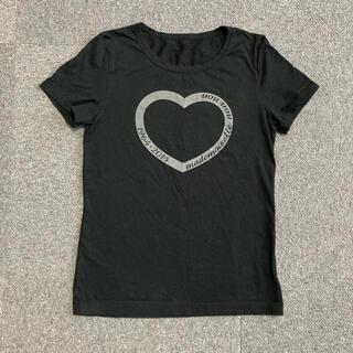 マドモアゼルノンノン Tシャツ レディース M 黒