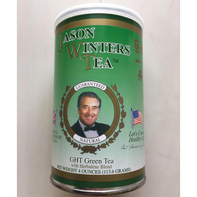 ジェイソンウィンターズティー緑茶(113.6g) 食品/飲料/酒の健康食品(健康茶)の商品写真