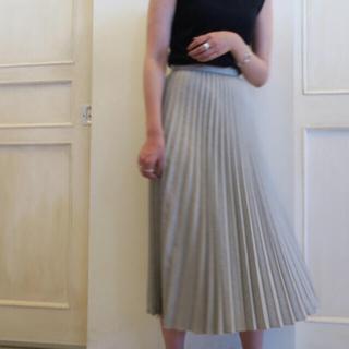 ENFOLD - 人気!enfold リネンライク プリーツスカート