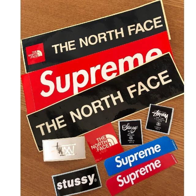 Supreme(シュプリーム)のsupreme&north face&suttsyステッカーセット メンズのメンズ その他(その他)の商品写真