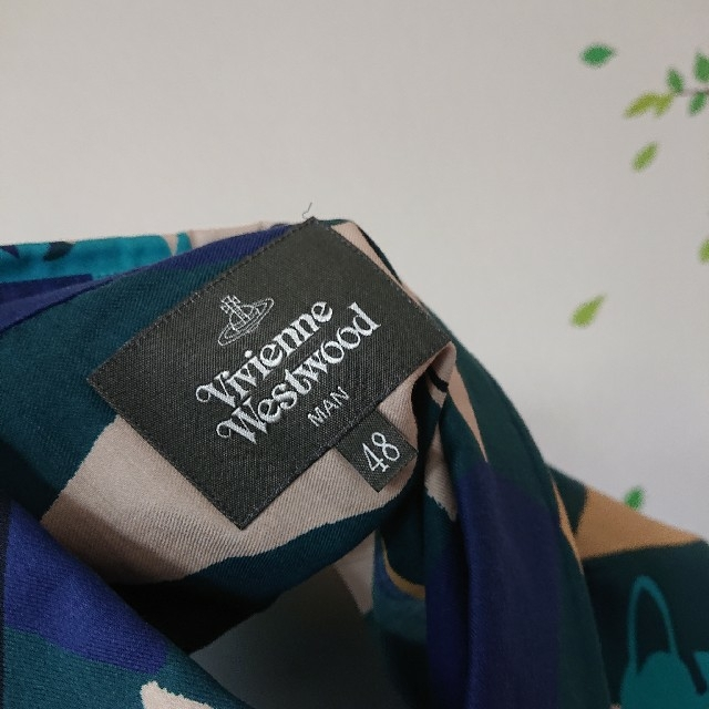 Vivienne Westwood(ヴィヴィアンウエストウッド)のVivienne Westwood MAN オーブ ハーレクイン シャツ 未着用 メンズのトップス(シャツ)の商品写真