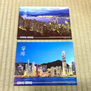 香港 ハガキ ポストカード 夜景 セット(写真/ポストカード)