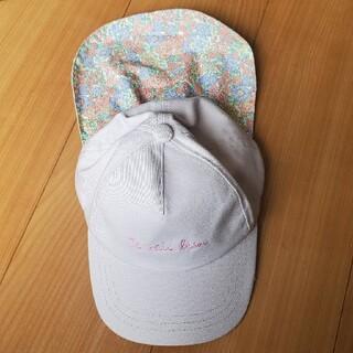 エニィファム(anyFAM)のみいしゃ様専用 エニファム キッズキャップ 花柄(帽子)