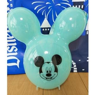 Disney - 【新品】ミッキーバルーン ポップコーンバケット アクア