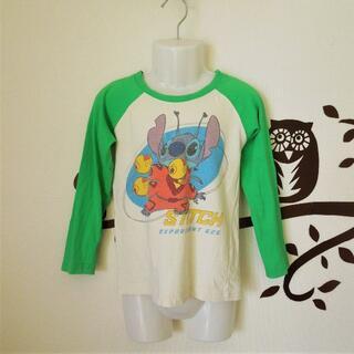ディズニー(Disney)のスティッチの長袖Tシャツ【100~110サイズ】(Tシャツ/カットソー)