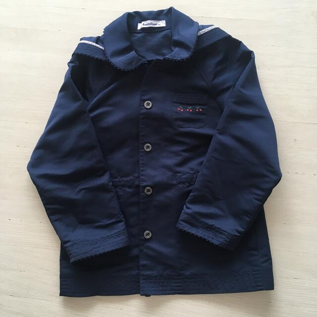 familiar(ファミリア)のファミリア  女の子 アウター130 キッズ/ベビー/マタニティのキッズ服女の子用(90cm~)(ジャケット/上着)の商品写真