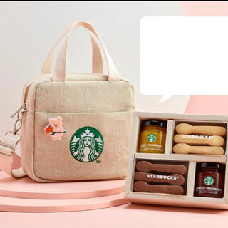 Starbucks Coffee - 韓国 スタバ ベアリスタ バッグ ジャム クッキー