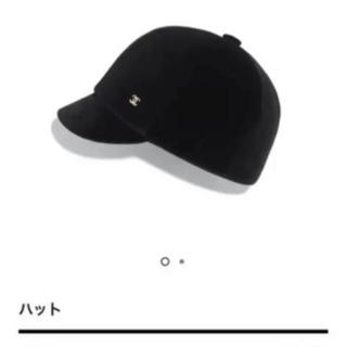 シャネル(CHANEL)のシャネル★レア★2021 AW ★ベルベット★帽子(キャップ)