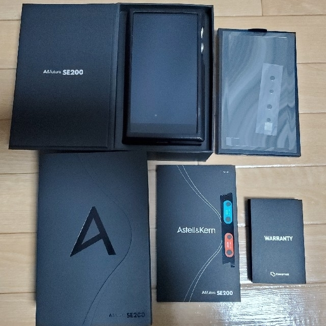 iriver(アイリバー)の[sakina様専用]A&futura SE200 DAP +純正ケース スマホ/家電/カメラのオーディオ機器(ポータブルプレーヤー)の商品写真