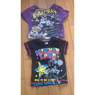 ディズニー(Disney)の80 Tシャツ2枚セット ディズニー ミニーちゃん(Tシャツ)
