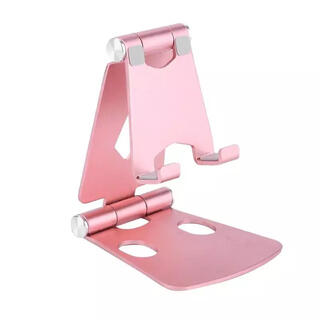 ipad アルミ タブレット iPhone スマホ スタンド ピンク