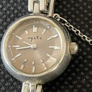 【シンプルに可愛い】☆agete ブレスレット腕時計 Y150-ON30