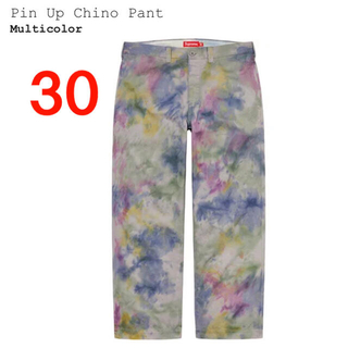 Supreme - Supreme Pin Up Chino Pants Multicolor 30
