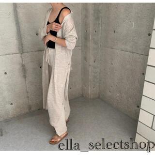 DEUXIEME CLASSE - ella_selectshop linen long cardigan