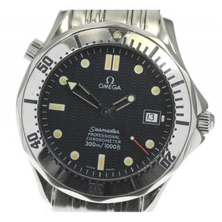 オメガ(OMEGA)のオメガ シーマスター300  2532.80 自動巻き メンズ 【中古】(腕時計(アナログ))