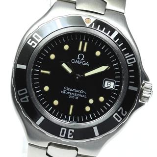 オメガ(OMEGA)のオメガ シーマスター200 デイト  クォーツ メンズ 【中古】(腕時計(アナログ))