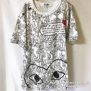COMME des GARCONS - 【COMME des GARCONS×Matt Groening】総柄 Tシャツ
