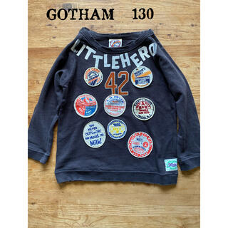 GOTHAM - GOTHAM ゴッサム ワッペン ロンT  トレーナー 130