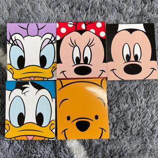 Disney - ディズニーメモ帳 セット